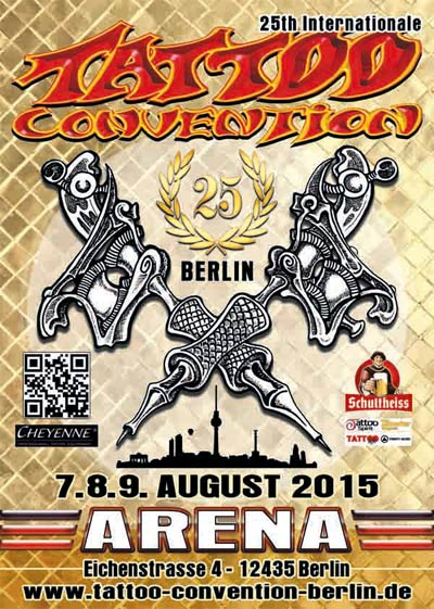 Tattoo Convention Berlin 2015