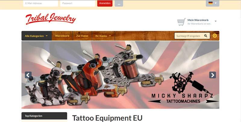 Tattoobedarf online bestellen